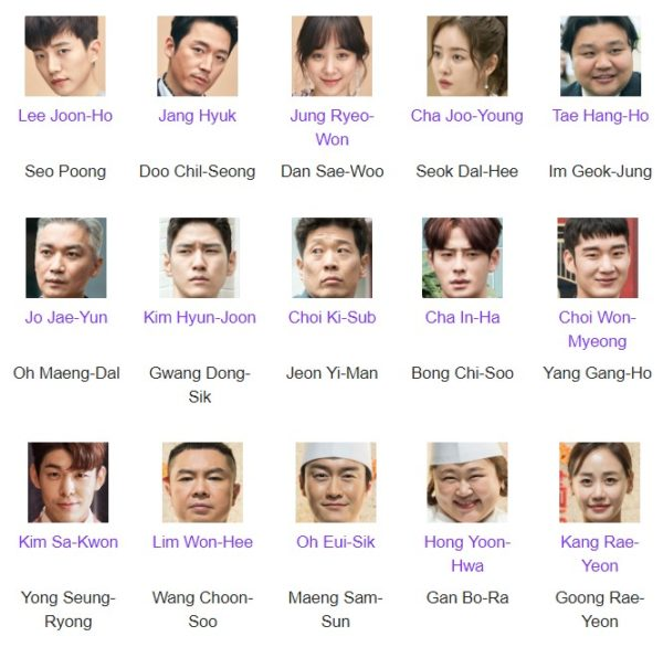 WOK OF LOVE (2018) korean drama – ASIA FAN INFO